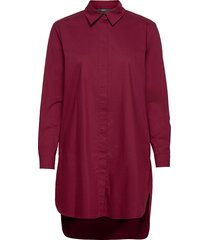 blouses woven tunika röd esprit collection