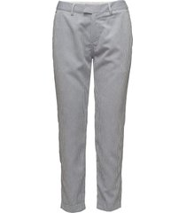 evalynn pantalon met rechte pijpen blauw custommade