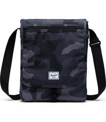 men's herschel supply co. lane crossbody bag - grey