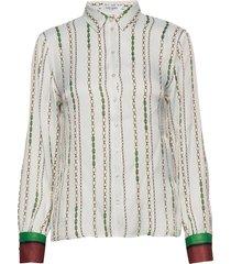 blouse long-sleeve overhemd met lange mouwen crème gerry weber edition