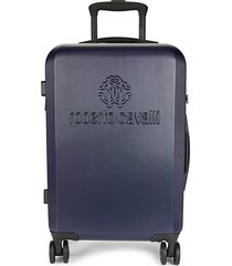 logo 19-inch carry-on spinner suitcase