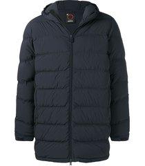 aspesi basic puffer jacket - blue