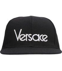 versace cotton hat