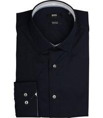 hugo boss overhemd goran donkerblauw 50415621/404