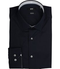 hugo boss overhemd goran donkerblauw 50415621/404 - maat 41 - maat 41