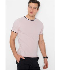 stretch piqué t-shirt, slim fit