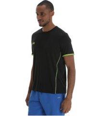 camiseta olympikus basic - masculina - preto