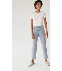 100% katoenen mom-fit jeans