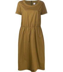 aspesi cotton mid-length dress - neutrals