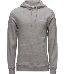 casual hoodie sweat-shirts & hoodies hoodies grijs han kjøbenhavn