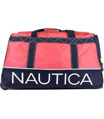 bolso dockside large rojo nautica
