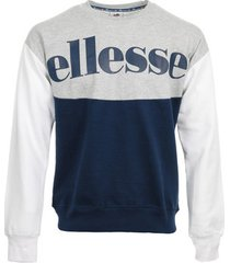 sweater ellesse eh h sws col rond bicolore
