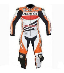 honda repsol motorcycle leather suit racing sports leather suit ce pads all size