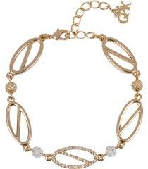 grace kelly collection 18k gold plated parking bracelet