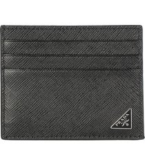 prada card holder triangle