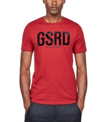 g-star raw men's logo t-shirt, created for macy's
