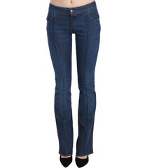 low waist boot cut jeans
