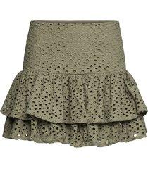 annie skirt kort kjol grön lulu's drawer