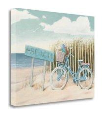 "tangletown fine art beach cruiser ii crop by james wiens giclee print on gallery wrap canvas, 31"" x 25"""
