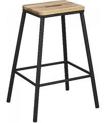 stołek barowy nevada black