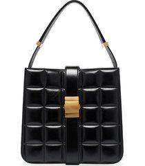 bottega veneta padded marie shoulder bag - black