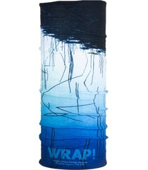 bandana multifuncional lagoon azul wild wrap