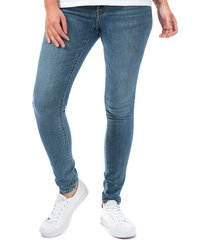 womens 711 skinny lapis indigo rays jeans