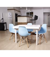 conjunto mesa de jantar impã©rio brazil kit mesa de jantar franã§a - incolor - dafiti