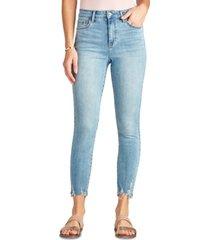 sam edelman denim the stiletto high-rise skinny ankle jeans