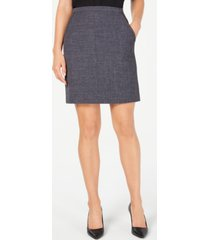 anne klein melange tailored skirt