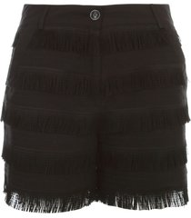 love moschino shorts w/fringes