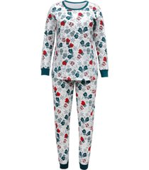 matching plus size mittens family pajama set, created for macy's