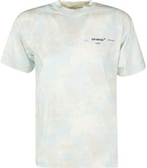 off-white tie dye casual t-shirt