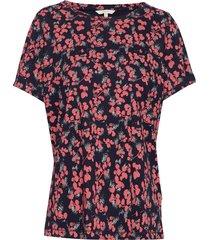 t-shirt/top t-shirts & tops short-sleeved röd signal