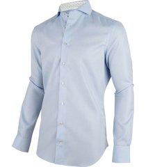 cavallaro cavallaro overhemd shirt 1001035-61103 licht blauw