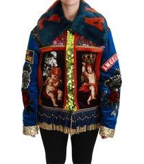 angel floral lovertjes jas jacket