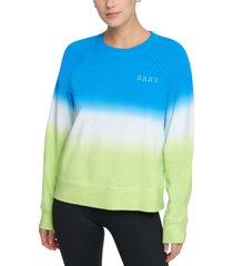 dkny sport dip-dyed sweatshirt