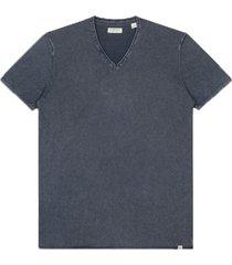 dstrezzed t-shirt donkerblauw v-hals 405256/669