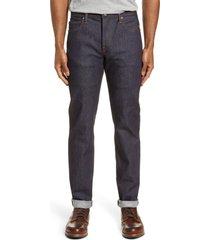 men's kato the pen slim fit jeans, size 38 x 34 - blue