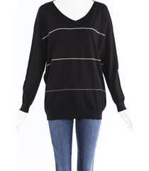 brunello cucinelli monili beaded sweater