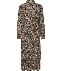 meilla long dress aop knälång klänning multi/mönstrad moss copenhagen