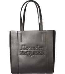alexander mcqueen signature tote bag