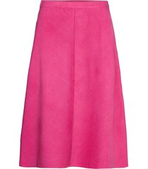 slilia skirt knälång kjol rosa soaked in luxury