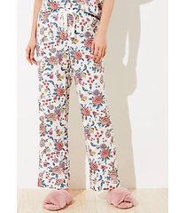 loft petite floral pajama pants