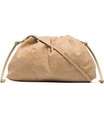 bottega veneta the mini pouch bag - neutrals