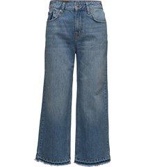 rey jeans jeans wijde pijpen blauw raiine