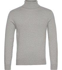 anf mens sweaters knitwear turtlenecks grijs abercrombie & fitch