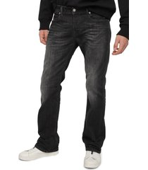 men's diesel zatiny bootcut jeans, size 33 x - black