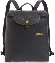 longchamp le pliage club backpack - grey