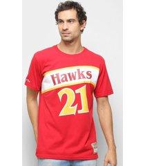 camiseta atlanta hawks wilkins 21 mitchell & ness nba